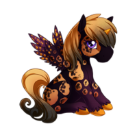 All Hallows' Eve Alicorn Baby