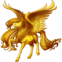 Gold Alicorn