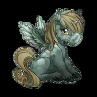 Dappled Light Alicorn Baby