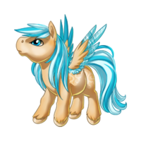 Sandcastles Pegasus Baby