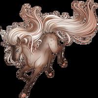 Faded Rose Unicorn