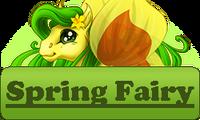 Fairy Button Spring