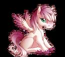Blushing Blossoms Alicorn