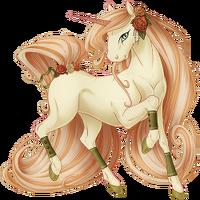 Antique Rose Unicorn V2