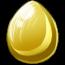 Gold Pegasus Egg