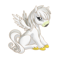 Red Tail Hawk Alicorn Baby
