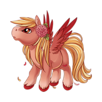 Rosy Dawn Pegasus Baby