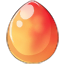 Peaches n Cream Unicorn Egg
