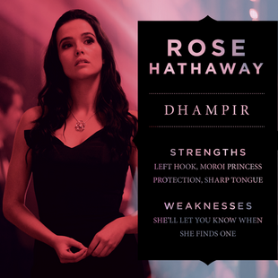 Rose Hathaway Character Poster Info