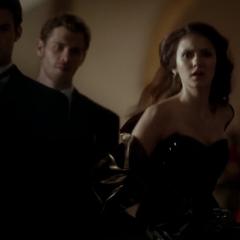 Elijah, Klaus and Elena.