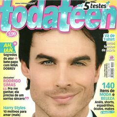 Toda Teen — Apr 3, 2013, Brazil, Ian Somerhalder