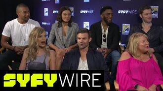 The Originals Cast and Creator Preview the Final Season San Diego Comic-Con 2017 SYFY WIRE