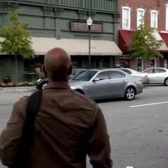 Connor heads to the Mystic Grill - not for coffee...