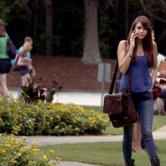 Elena on Campus