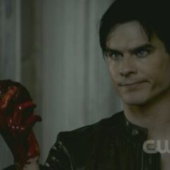 Damon with hybrid Heart
