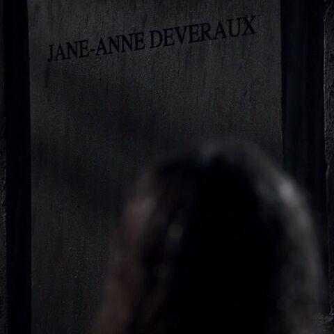 Jane-Anne's Gravestone
