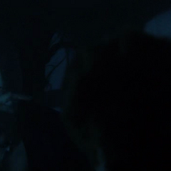 Elena telling Stefan to take Matt first, not her