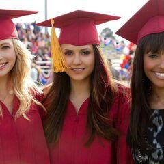 Caroline, Elena and Bonnie