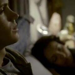 Watching Bonnie sleeping