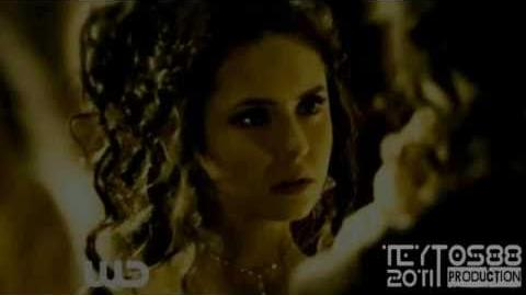 Katherine, Elijah, Elena Before & After (2x19)