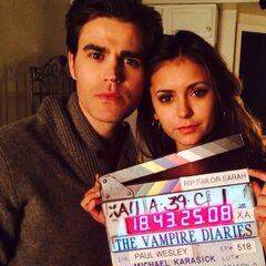 Nina & Paul Behind The Scenes