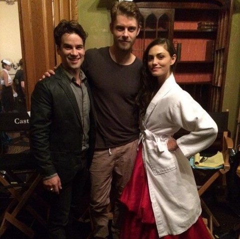 File:The Originals - Phoebe - on set.png