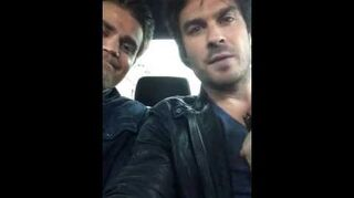 Ian Somerhalder brotha from another motha Paul Wesley