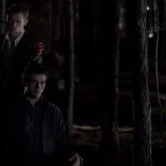 Klaus rips out Adrian's heart