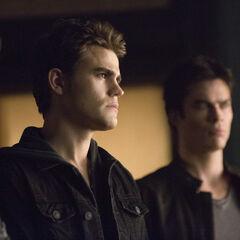 Aaron, Stefan and Damon