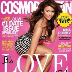 Cosmopolitan — Feb 2014, Netherlands, Nina Dobrev