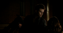 Stefan catches Katherine