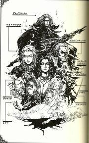 Noble V Greylancer cast by Ayami Kojima