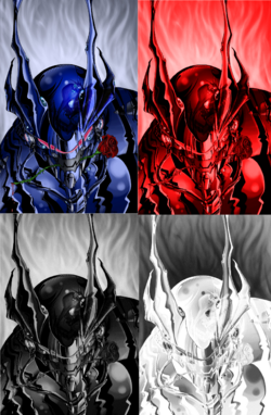 Four Knights of Diane Rose knights end by teamzoth - Copy