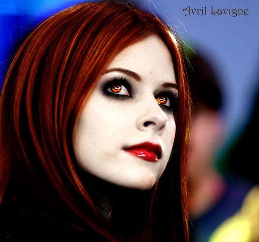 File:Avril Lavigne as a Vampire.jpg