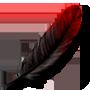 Cardinal Feather