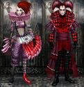 The Gothic Circus set