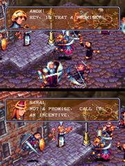 Vandal Hearts Capture amon miguel sara celia larna final battle with Xeno