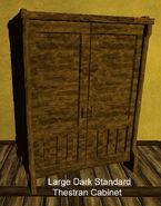 Large Dark Standard Thestran Cabinet