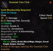 Gwartak Clan Club