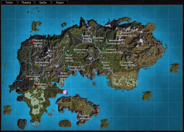 Rifts thestra map