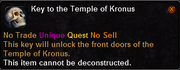 Key to the Temple of Kronus
