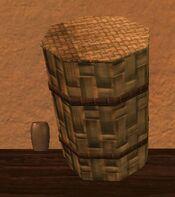 Tall sealed silkbloom kojani basket