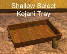 Shallow Select Kojani Tray