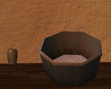 Round vielthread kojani basket