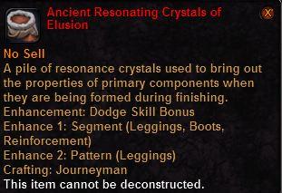 Ancient resonating crystals elusion