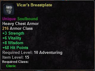 Vicar's Breastplate