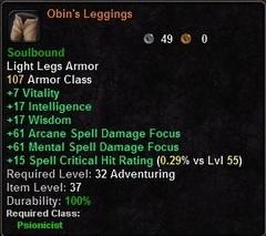 Obin's Leggings