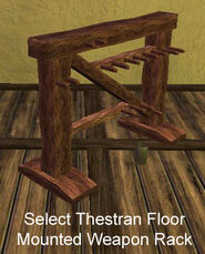 Select Thestran Floor Mounted Weapon Rack