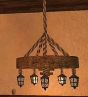 Pyrite thestran chandelier