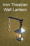 Iron Thestran Wall Lantern